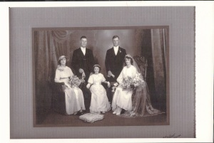 ALAN AND HANNAH BROOKS, HORACE, NELLIE WILLET AND JEAN FULLER NEE GRANTPG