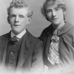 Twins: Ernest and Lillian Holt