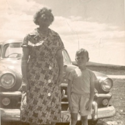 Aunt Dorrie with one of her grandsons