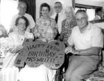 Mauds 100th Birthday  20 Nov 1987