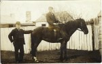 William Robinson Holt with son Claude...